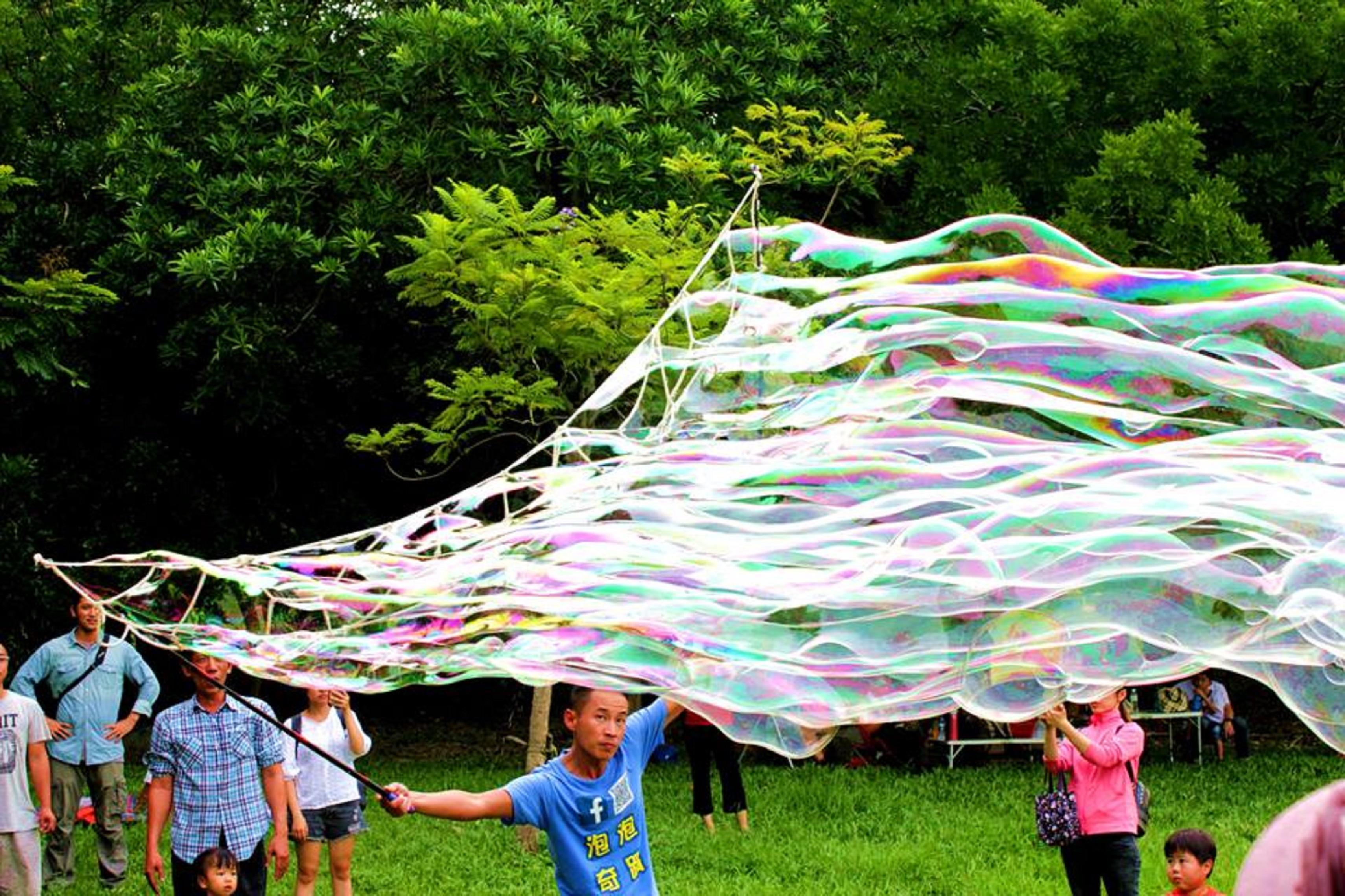 泡泡表演-泡泡雲